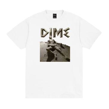 Dime Last Try T-Shirt White