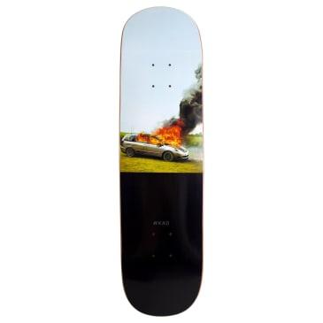 "WKND Van On Fire Skateboard Deck - 8.25"""