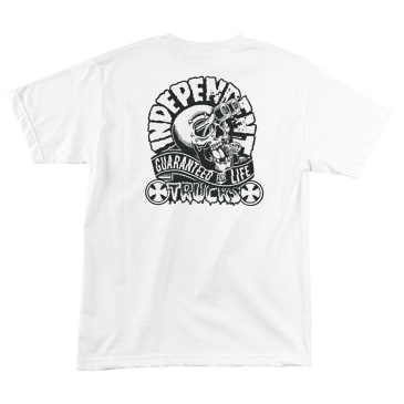 INDEPENDENT Gashed Tee White