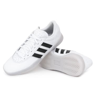 Adidas City Cup Shoes - White/Core Black/Solid Grey
