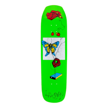 "Welcome Skateboards - 8.6"" Puppetmaster on Banshee Deck - Bright Green"