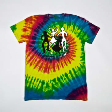 Welcome Skate Store - Dance T-Shirt - Rainbow Tie Dye