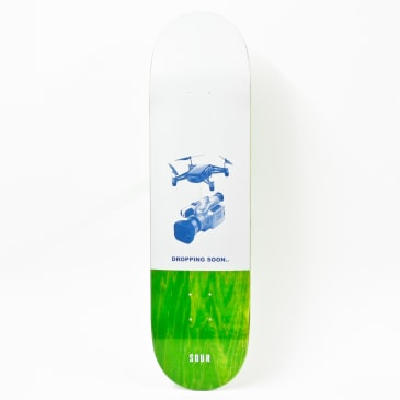 Sour Dropping Soon Deck Green 8.25""""
