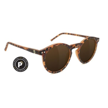 Glassy - TimTim Polarized Sunglasses - Matte Tortoise