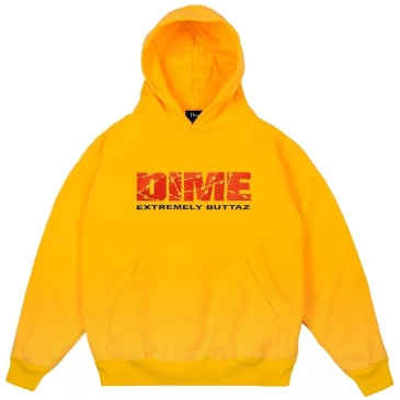 Dime Extremely Buttaz Hoodie - Yellow