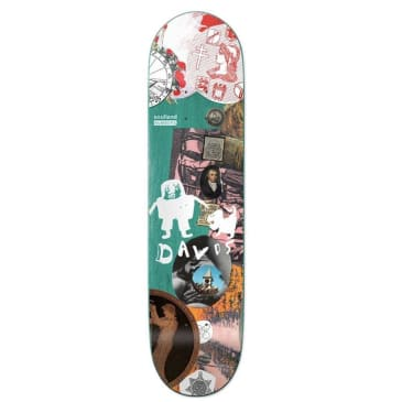 Numbers x Soulland Kyron Davis Edition 7 Skateboard Deck - 8.28
