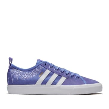 adidas Skateboarding Matchcourt RX Nora Shoes - Real Lilac / Footwear White / Chalk Purple