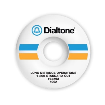 DIAL TONE WHEEL CO - BELL SOUTH WHEELS 55MM