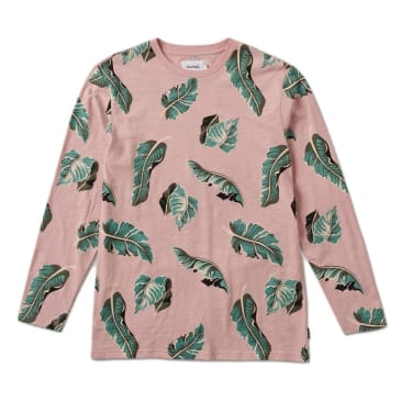 Diamond Supply Co. Tropical Paradise Longsleeve T-Shirt - Pink