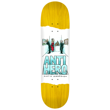 "Anti Hero Skateboards - 8.06"" Kanfoush Expressions Deck - Various Wood Stains"