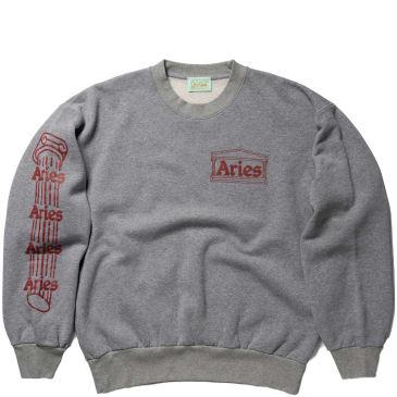 Aries Column Sweatshirt - Grey