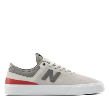 New Balance Numeric 379 Skate Shoe - Grey / Red / White
