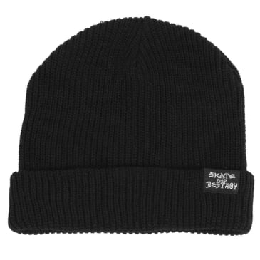 Thrasher - Thrasher Skate And Destroy Beanie | Black