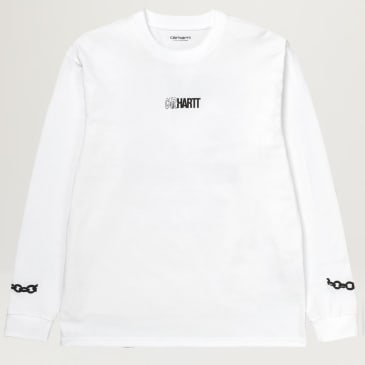 Carhartt WIP Twisted Truth L/S Tee (White)
