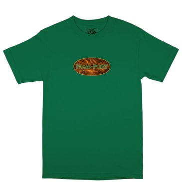 Pass~Port Inlay T-Shirt - Kelly Green