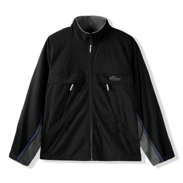 Butter Goods - Cold Front Tracksuit Jacket - Black/Grey