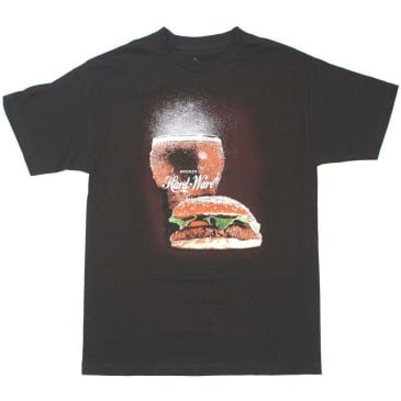 Bronze 56k Burger T-Shirt - Black