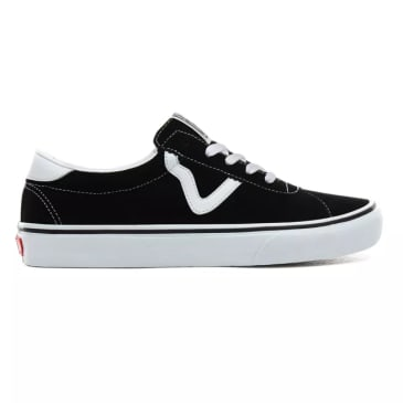 Vans Sport Shoes Suede Black/White