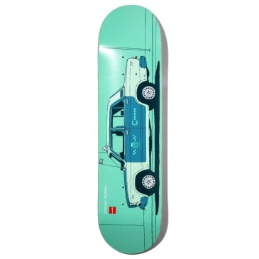 "Chocolate Skateboards - Stevie Perez World Taxis Deck 8.25"" Wide"