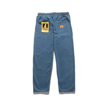 Service Works Classic Chef Pants - Light Washed Denim