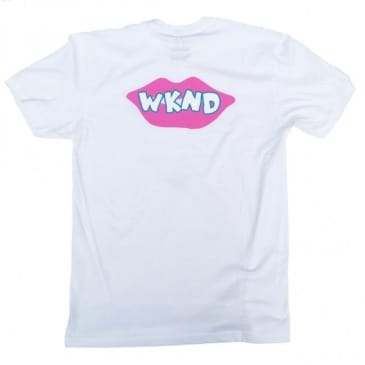 WKND Lips Are Sealed T-Shirt - White
