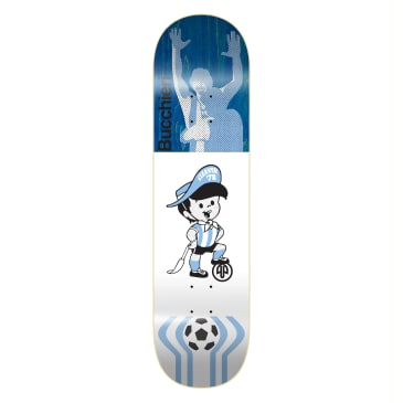 "Cleaver Skateboards - 8.125"" Diego Bucchieri '78 Deck (Various Colours Available)"