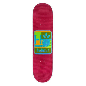 Habitat Skateboards Mod Pod Red Skateboard Deck - 7.875""
