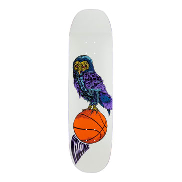 Welcome Skateboards Hooter Shooter on Moontrimmer 2.0 Skateboard Deck Bone - 8.5""