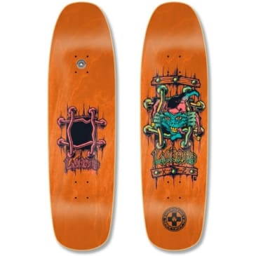 Black Label Lucero X-2 Deck 8.88″ x 32.25″ (Orange Stain)