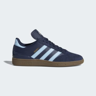 adidas Busenitz Pro Skateboard Shoes - Collegiate Navy/Clear Blue/Gum