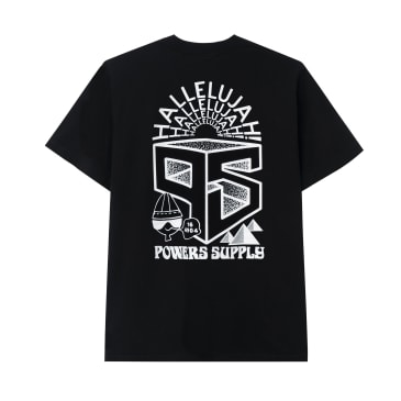 Powers Collage T-Shirt - Black