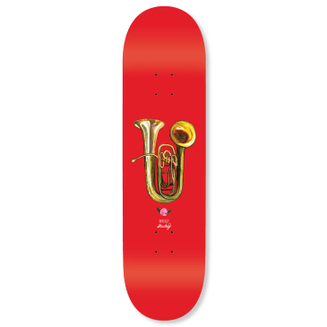 WKND - Stuckey Horn Skateboard Deck - 8.25""