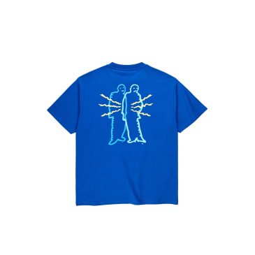 Polar Skate Co Electric Man T-Shirt - Egyptian Blue