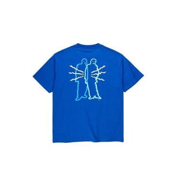 Polar Skate Co Electric Man T-Shirt - Egyptian Blue