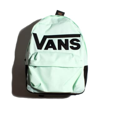 Vans Old School 3 Rucksack Bag - White, Black