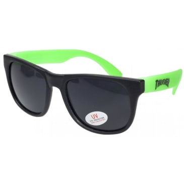 Thrasher Skate Mag Logo Sunglasses - Green