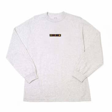 WKND Patchy Long Sleeve T-Shirt - Heather Grey