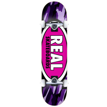 Real Team Oval Camo Complete 8.0""
