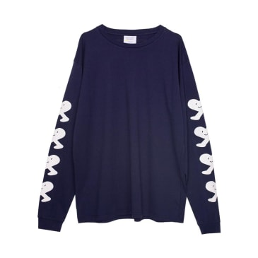 Public Possession - United Emotions Long Sleeve Tee - Navy