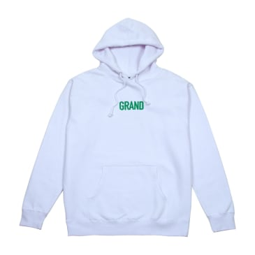 Grand Collection Block Hoodie White