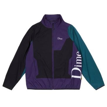 Dime Range Jacket - Black/Teal