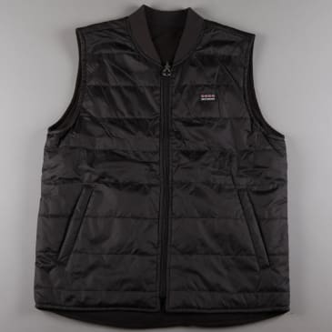 Independent 'Manner' Vest Jacket (Black)