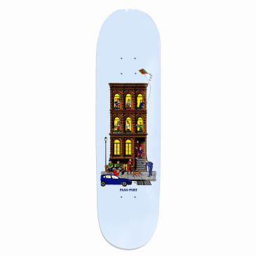 Pass-Port Day And Night Series - Day Skateboard Deck - 8.125
