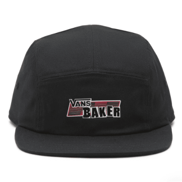 Vans - Baker 5-Panel Camper Cap - Black