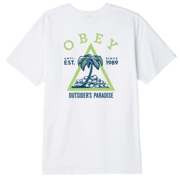 Obey Outsider's Paradise - White