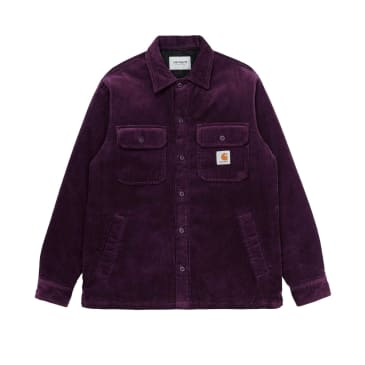 Carhartt WIP Whitsome Shirt Jacket - Boysenberry