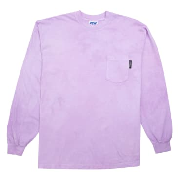 GoodThinking - Lavender Hand Dye L/S Pocket Tee