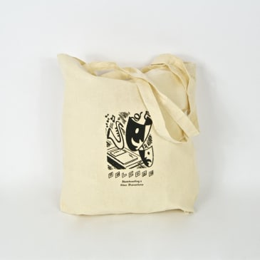 Welcome Skate Store - Distractions Tote Bag - Natural