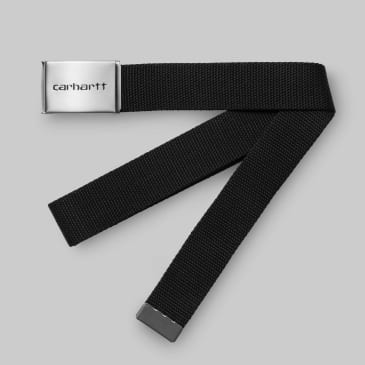 Carhartt WIP - Chrome Clip Belt - Black