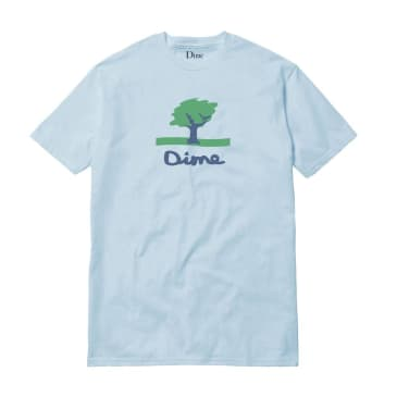 DIME CHANNEL 16 TEE - LIGHT BLUE
